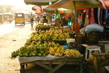 Fruit Market Sambava Madagascar