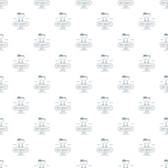 Wineglass pattern vector seamless repeat for any web design