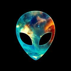 Alien Head Galaxy Style