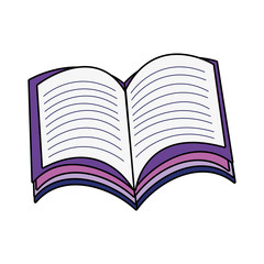 book school isolated icon