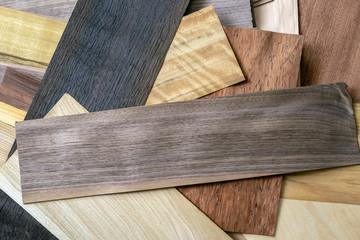 Obraz Wooden veneer to use as a background - fototapety do salonu