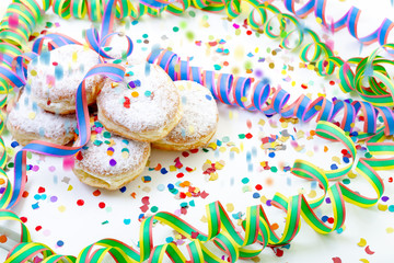 Pfannkuchen Party Hintergrund