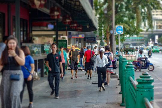 バンコク 都市風景