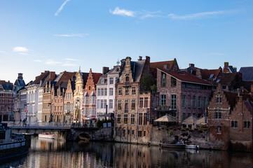 Houses on the Leie Ghent