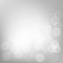 Winter holidays bokeh blurred background