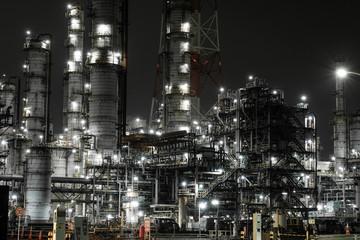 鹿島工業地帯 工場夜景