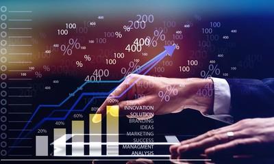 Finance revenue result background system economic forex