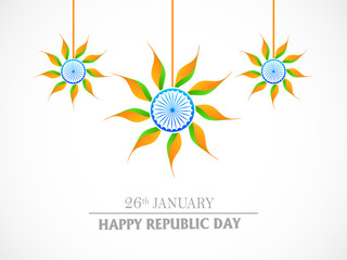 Republic Day India Celebration on 26 January - Vector illustration