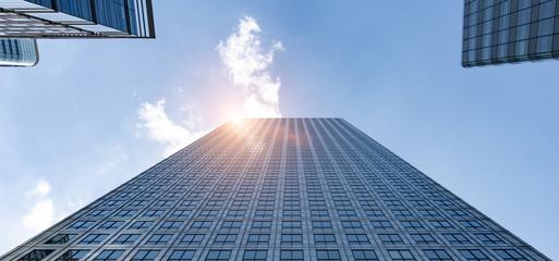 Wall Mural - modern office buildings skyscraper in London city