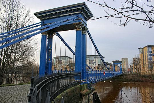 St Andrew,s suspension bridge, Glasgow