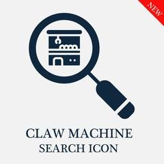 Claw machine search icon