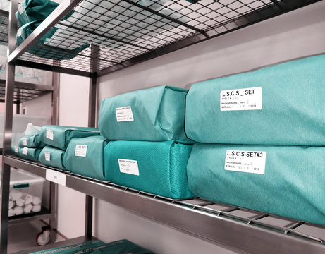 Wrapped Sterile Sets