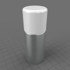 Medium aluminum bottle