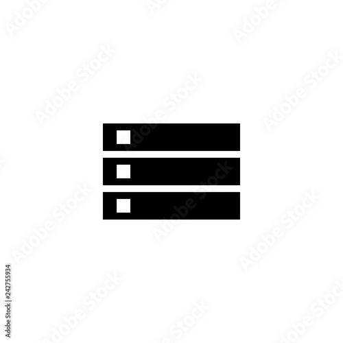 server icon vector  server vector graphic illustration
