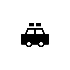 patrol icon vector. patrol vector graphic illustration