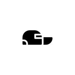 cap icon vector. cap vector graphic illustration