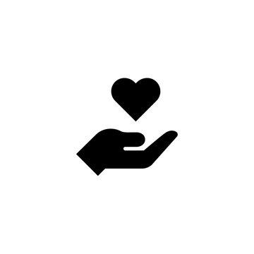 care icon vector. care vector graphic illustration
