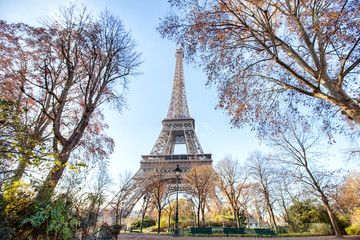Eiffel Tower in the spring, Paris, France