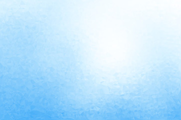 Abstract vector blue ice or foil background