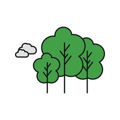 vector trees icon
