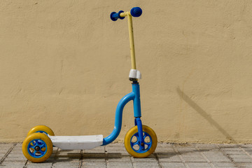 Photo Picture of plastic scooter for children