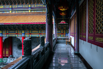 Landscape photo of beautiful traditional temple.