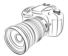 Digital Camera Sketch.