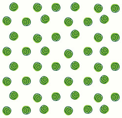 kiwi background pattern illustration