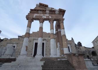 Capitolino Temple, Brescia, Lombardy, Italy.
