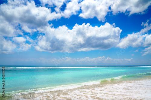 Beach Background  Clear Tropical Beach  Paradise Island View