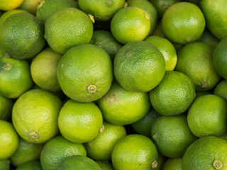 Close up green lime