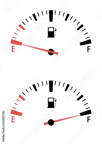 Fuel Gauge Meter  Speedometer interface Motor Gas Gauge
