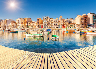 Photo sur Plexiglas Ville sur l eau Location place Malta island, Europe.