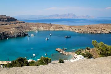 Lindos, Hafen, Bucht, Rhodos, Antike