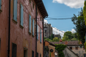 Scorcio di Valeggio sul Mincio, Verona, Veneto, Italia