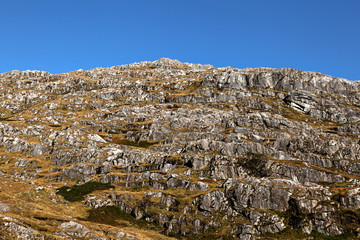 Rocky Mountain in Highlands Scotland Glenfinnan