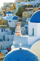 Beautiful views of Oia in the Cyclades