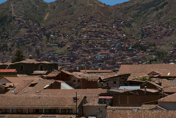 Cusco, a city in the Peruvian Andes, was once capital of the Inca Empire, and is now known for its archaeological remains and Spanish colonial architecture.