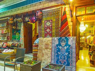 Choose the carpet in Antalya, Turkey