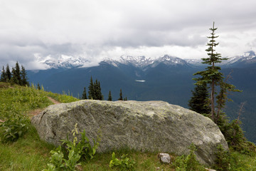 High note trail, Whistler, Canada V