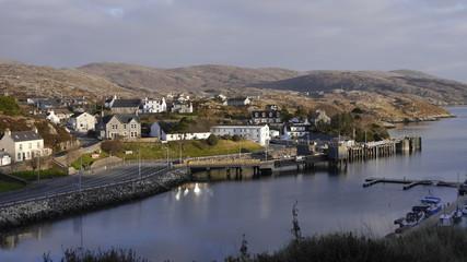 Schiffanleger, Hafen Tarbert, Isle of Harris, Outer Hebrides