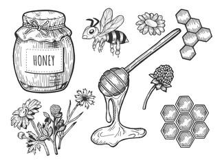 honey objects set