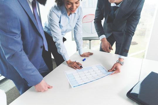 Organization in company