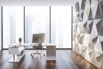 Manager office interior