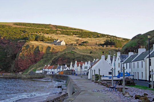 Pennan Local Hero Village, AberdeenshireKüste Schottland