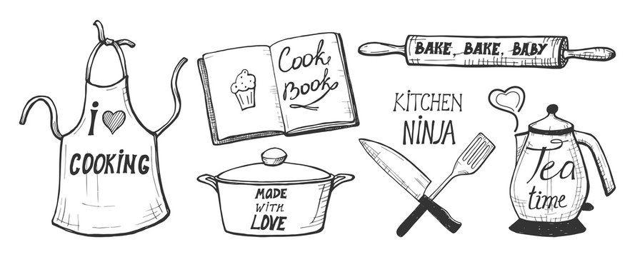 cooking labels and quotes