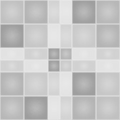Textured background with squares and rectangles. 3D Illustration.
