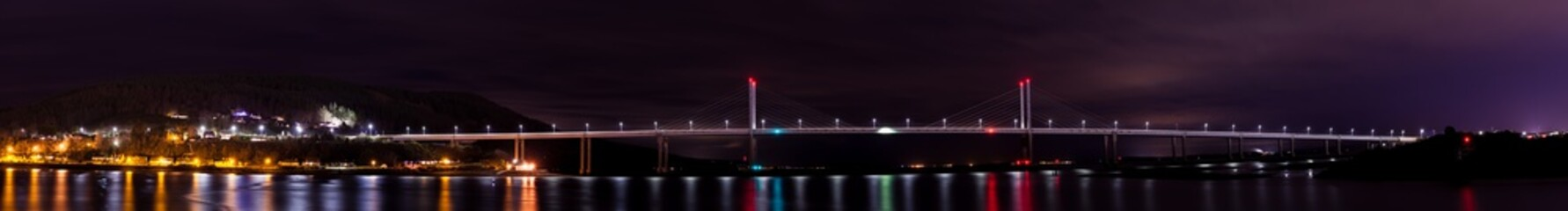 Moray Firth Inverness Night Landscape