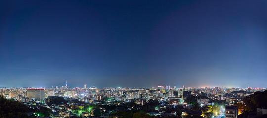 Wall Mural - 都市風景 福岡市 夜景