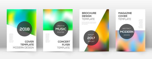 Flyer layout. Modern modern template for Brochure,